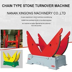 Chain Type Stone Turnover Machine