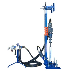 FULLY PNEUMATIC DTH DRILLING MACHINE
