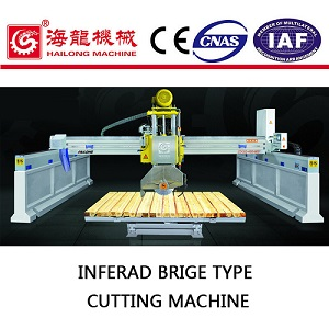 Bridge stone edge cutting machine