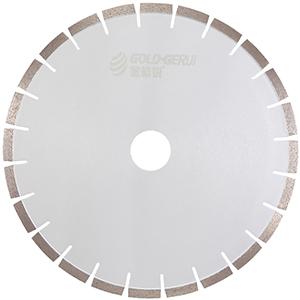 Silver welding diamond stone blade