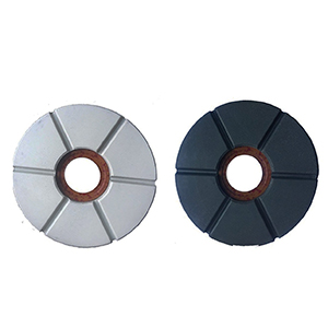 Hexagon polishing disc