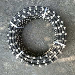 diamond wires for reinforced concrete cutting