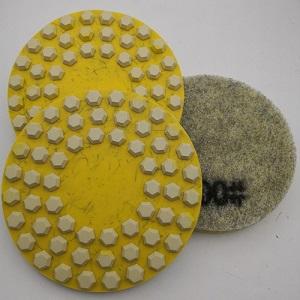13inch Fiber Diamond Polishing Pads Burnishing Tools for Concrete Floor