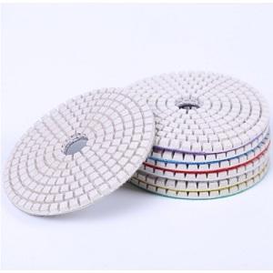 White resin polishing pads