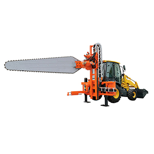 Backhoe Chain Saw