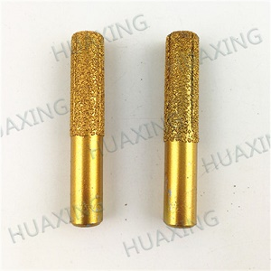 Vacuum Brazed Diamond Router Bits With Shank